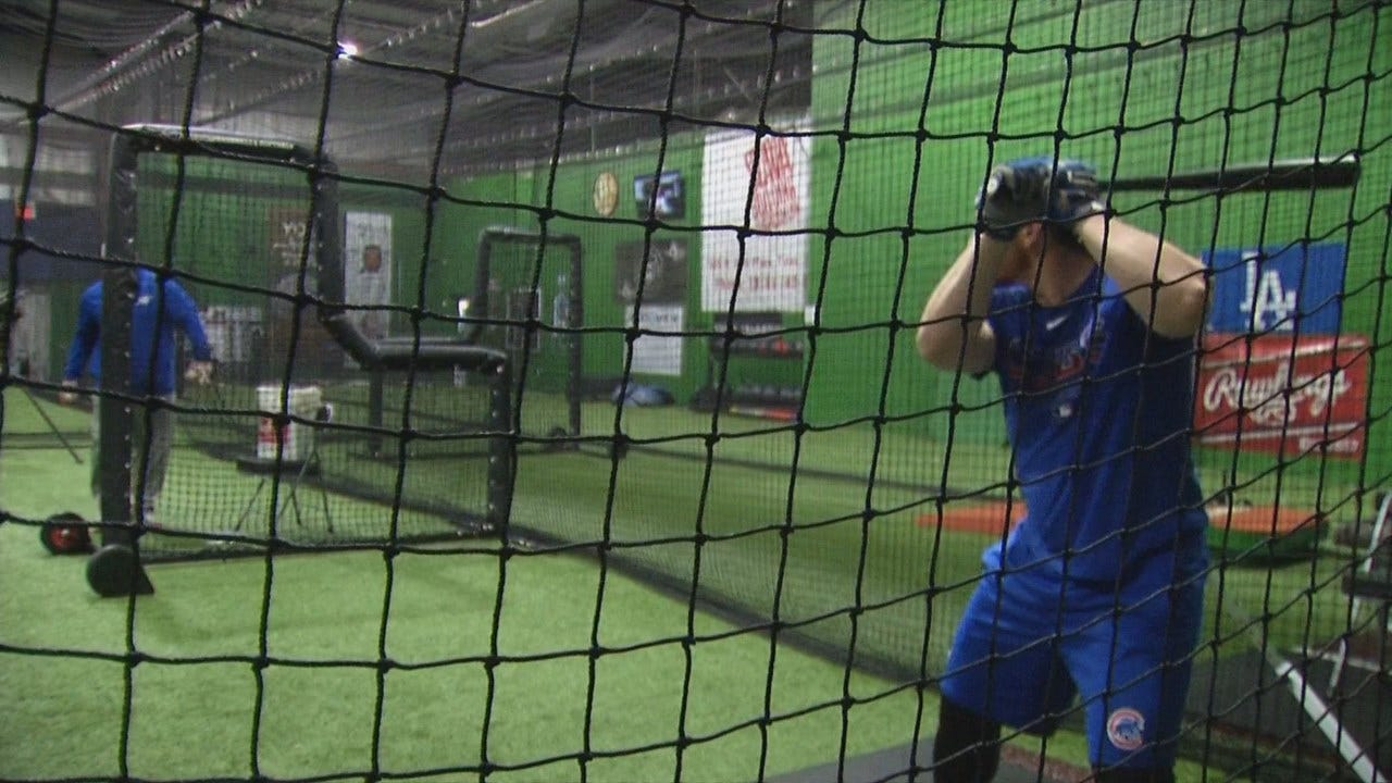 Former Tulsa Drillers Player Prepares For Cubs Season In Down Time