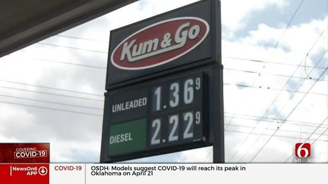 Kum & Go Locations Offering Full-Service Gas Pumping Amid Oklahoma's Coronavirus Outbreak