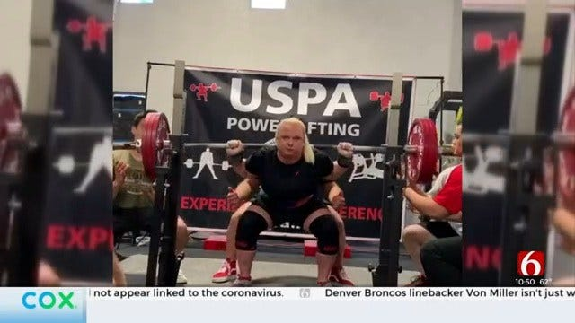 National Record-Holding Powerlifter Calls Tulsa Home