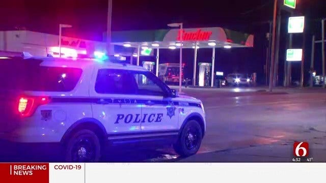 Tulsa Police: 1 Arrested After Clerk Robbed At Gas Station