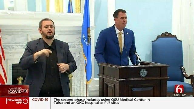 Gov. Stitt: Oklahoma's Safer-At-Home Order Extended To May 6