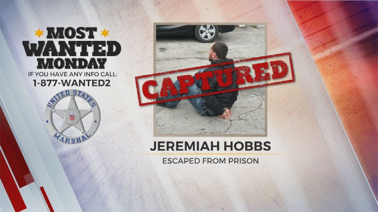 Monday Most Wanted Suspect Arrested By U.S. Marshals