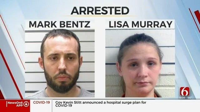 Deputies: Muskogee Couple Arrested For Mail Theft