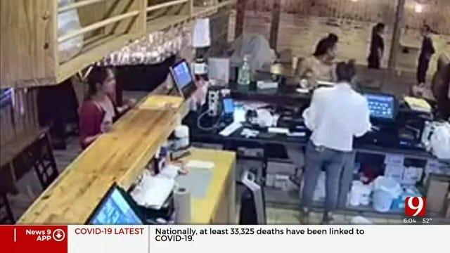 Caught On Camera: Former Grubhub Driver Accused Of Vandalizing OKC Restaurant