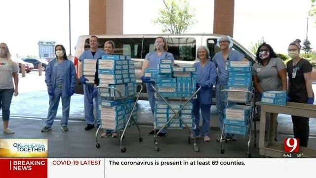Hospital Workers Surprised With Sweet Treats During Coronavirus Pandemic