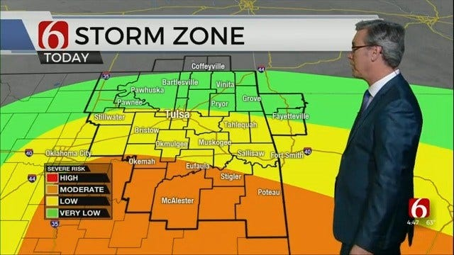WATCH: Weather Update With Alan Crone 4:46 a.m.