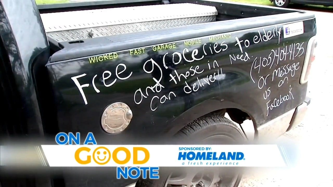 Norman Couple Opens Hearts, Work Truck To Those In Need