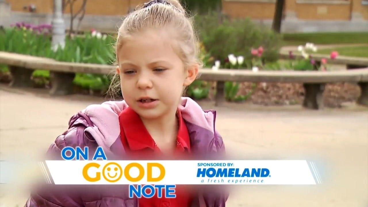 On A Good Note: Tulsa Mom's Pen Pal Idea Resonates With Kids