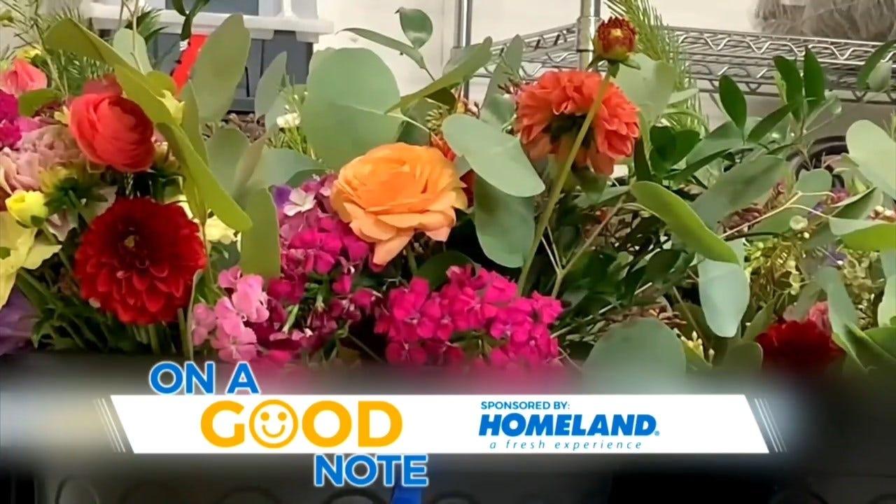 On A Good Note: Oklahoma Company Spreading Joy With Fresh Flowers