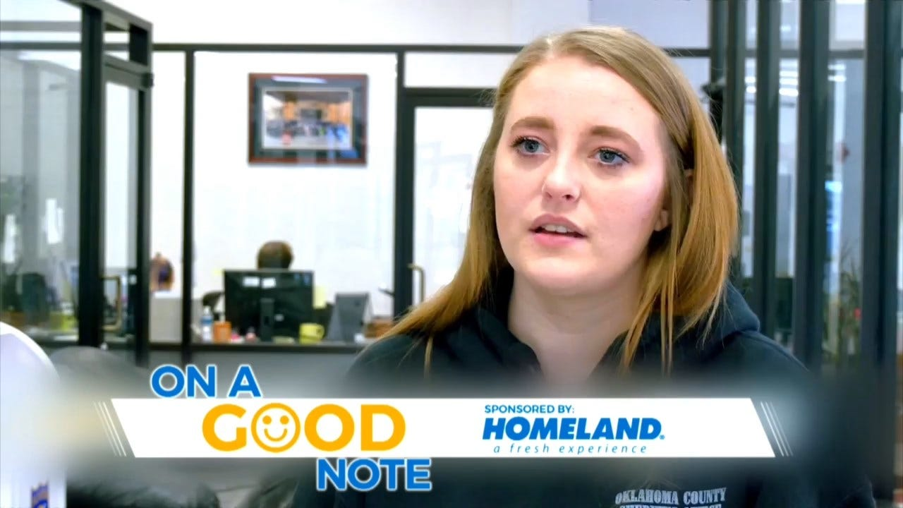 On A Good Note: Choctaw Police Help Oklahoma County Dispatcher Battling Kidney Disease