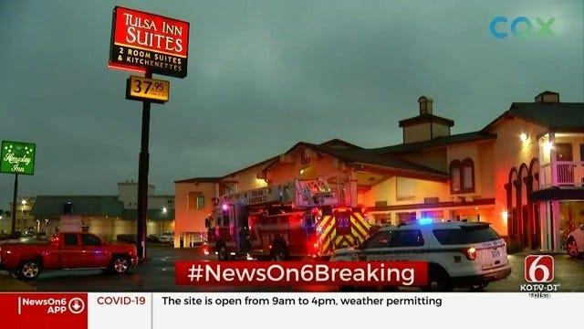 Police Investigate Homicide At Tulsa Hotel