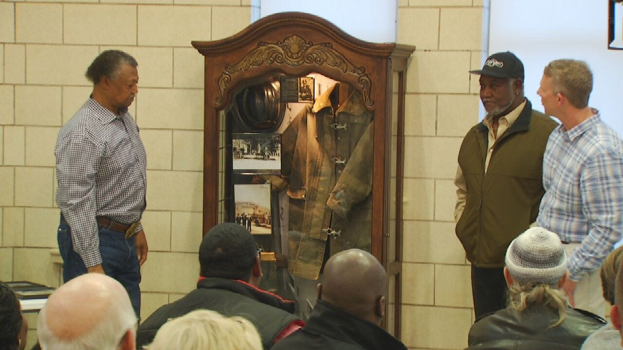 One Of Tulsa's First Black Firefighters Honored With Museum Exhibit