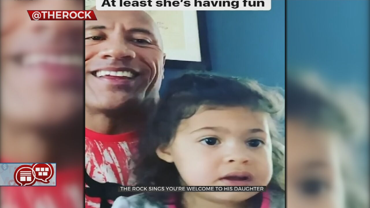 Something To Talk About: The Rock Sings For His Daughter In Sweet Video