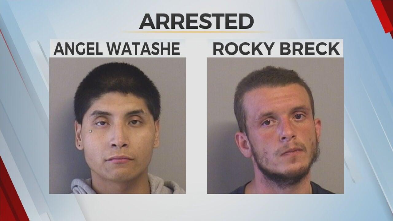 Tulsa Police Arrest 2 Men After Argument Ends With Car Slamming Into Bystanders