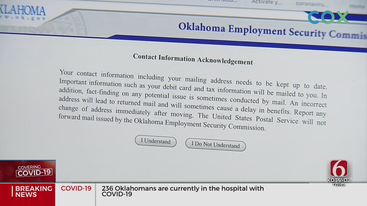 Tulsa Man Is Victim Of Unemployment Fraud