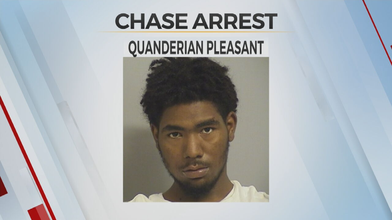 Tulsa Teen Arrested After Overnight Chase With Police Ends With Crash
