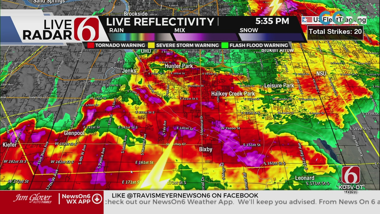 Travis Meyer's 5:30 PM Severe Weather Update