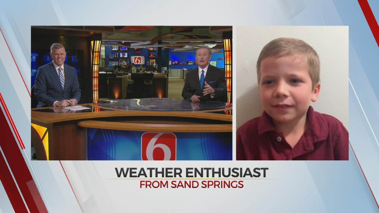 Little Meteorologist Jake Shares His Thoughts With News On 6