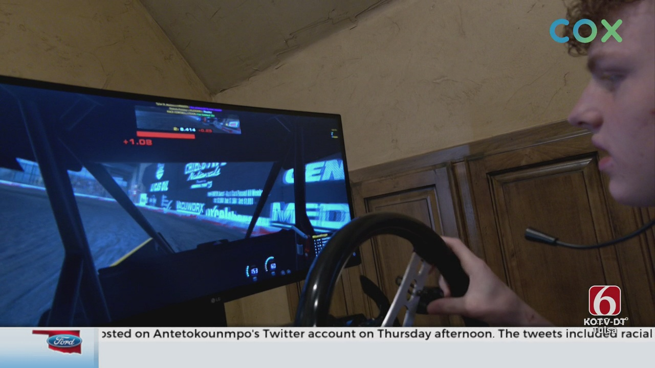Bixby Racer Takes To The Virtual Track