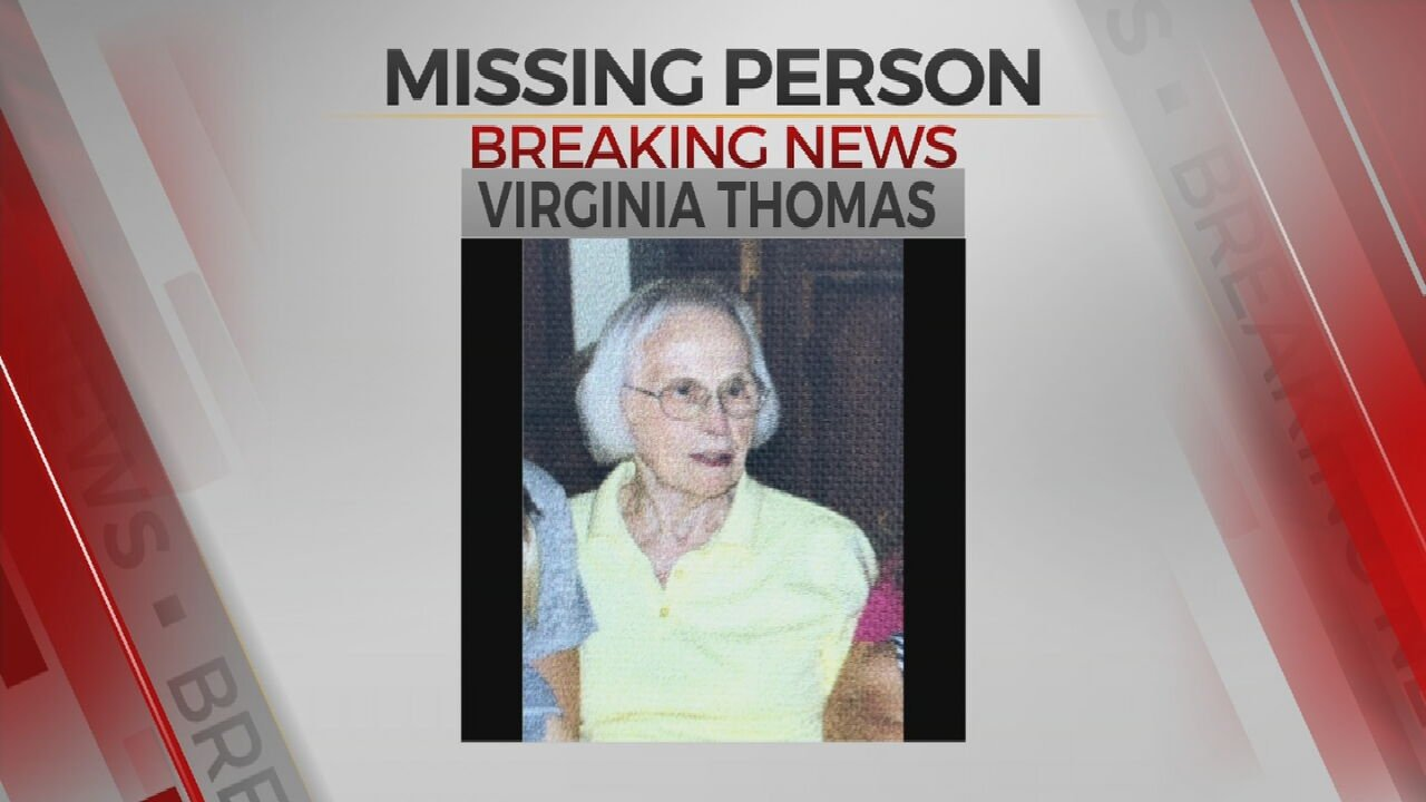 Cushing Police Department Searching For 96-Year-Old Woman