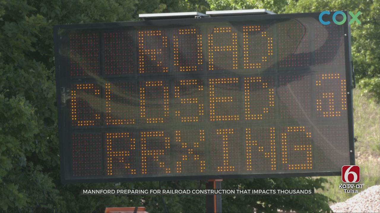Major Railway Company Plans Repairs At Critical Time In Mannford