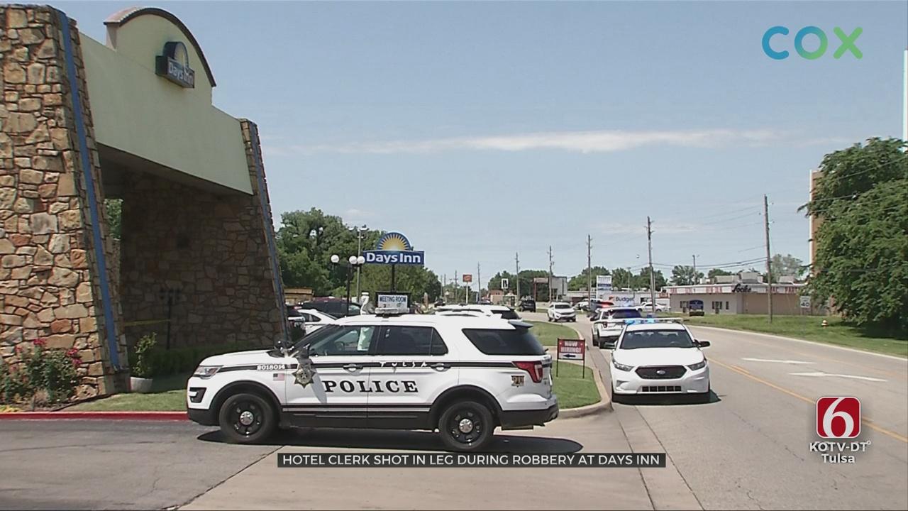 Tulsa Police Investigating Shooting At Motel