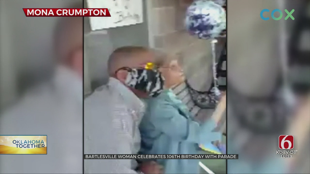 Oklahoma Together: Bartlesville Community Comes Together To Help Celebrate Woman's 106th Birthday