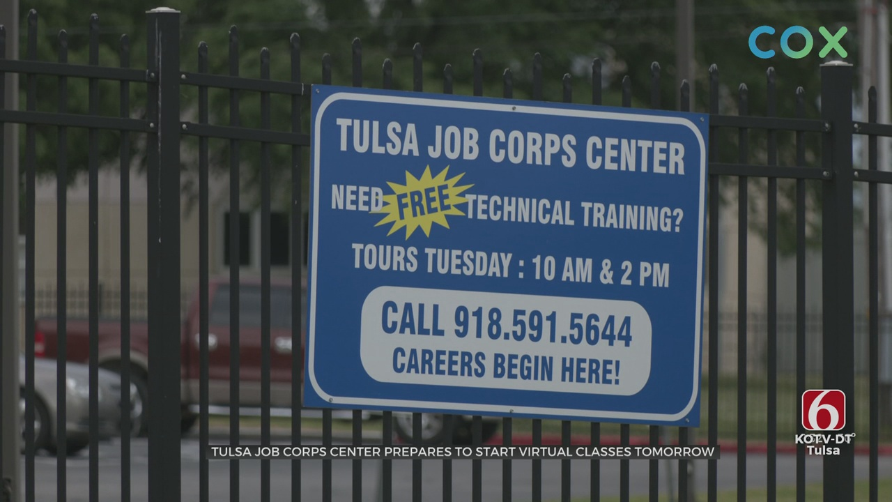 Tulsa Job Corps Launches Virtual Learning Center