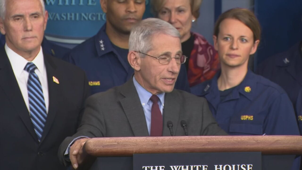 WATCH: Dr. Fauci Testifies to Senate Committee About Reopening Too Soon