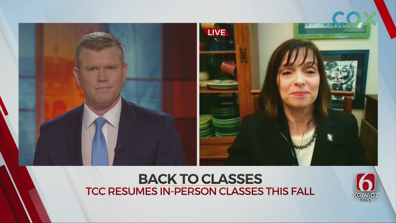 TCC President Dr. Leigh Goodson Talks College Reopening Plans