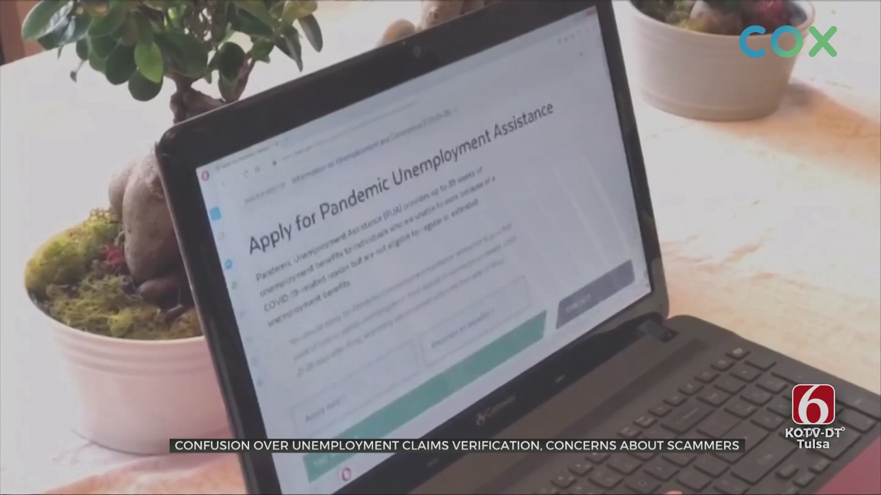 Confusion Over Unemployment Claims Verification, Concerns About Scammers Calling