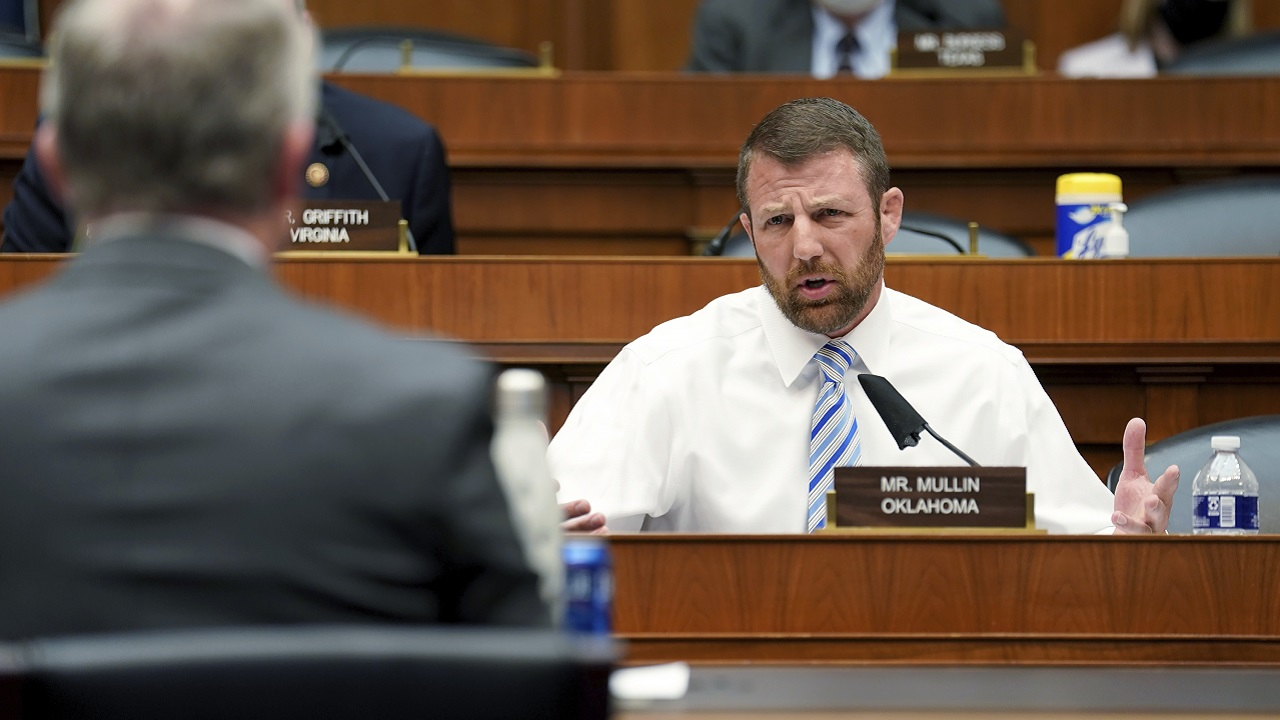 Rep. Mullin Questions Whether Virologist's Testimony Politically Motivated