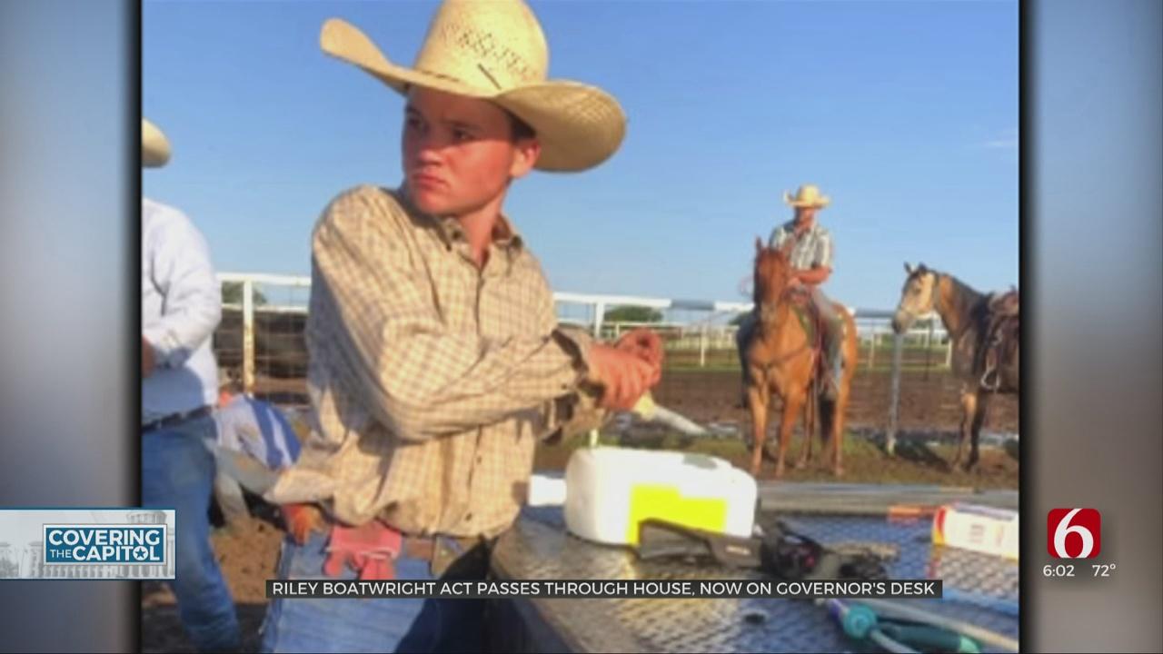 'Riley Boatwright Act' Passes Through Oklahoma House On Friday Night