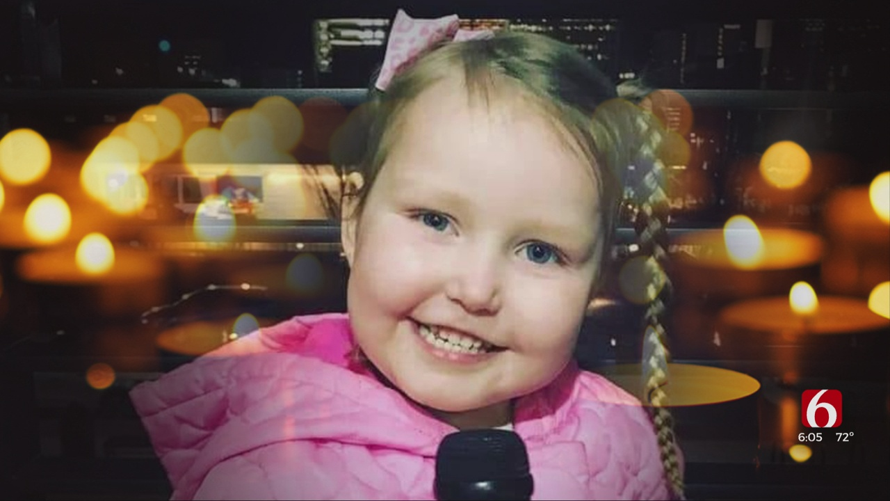 5-Year-Old Bailey Dodson Of Glenpool Dies After Struggle With Inoperable Brain Tumor