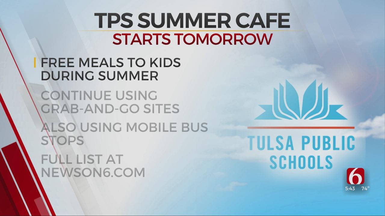 TPS Announces Summer Cafe Will Begin Monday