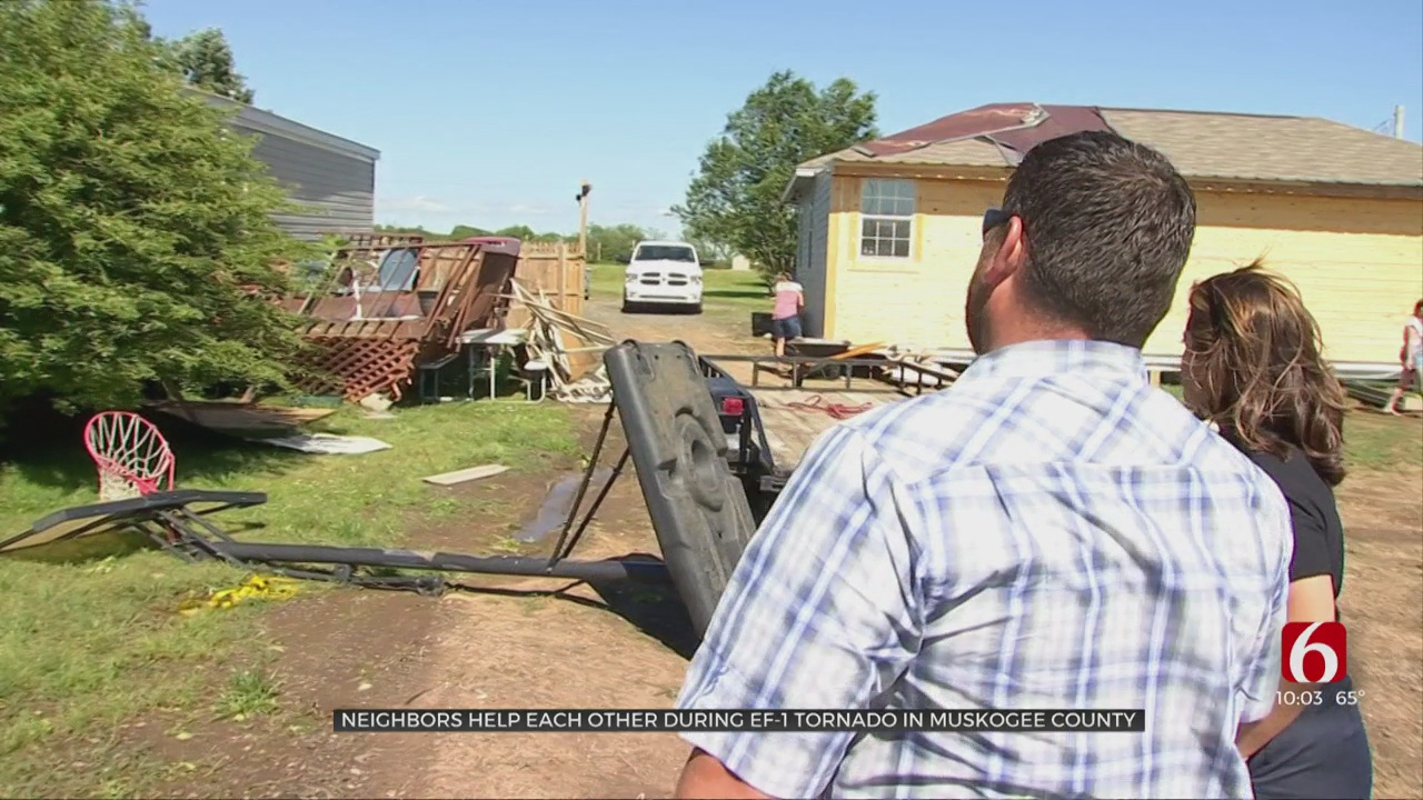 Muskogee County Residents Brought Closer Together After EF1 Tornado