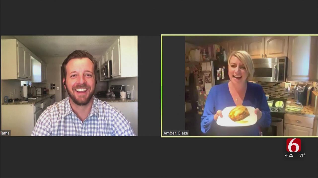 Amber & Brooks In The Kitchen: Zucchini Lasagna