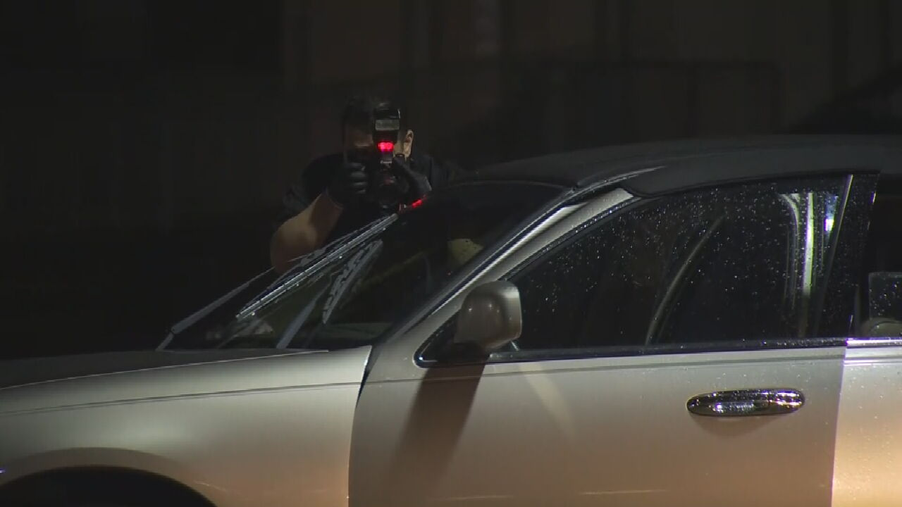 Tulsa Police Say 1 Person Hit After Shots Fired At Car