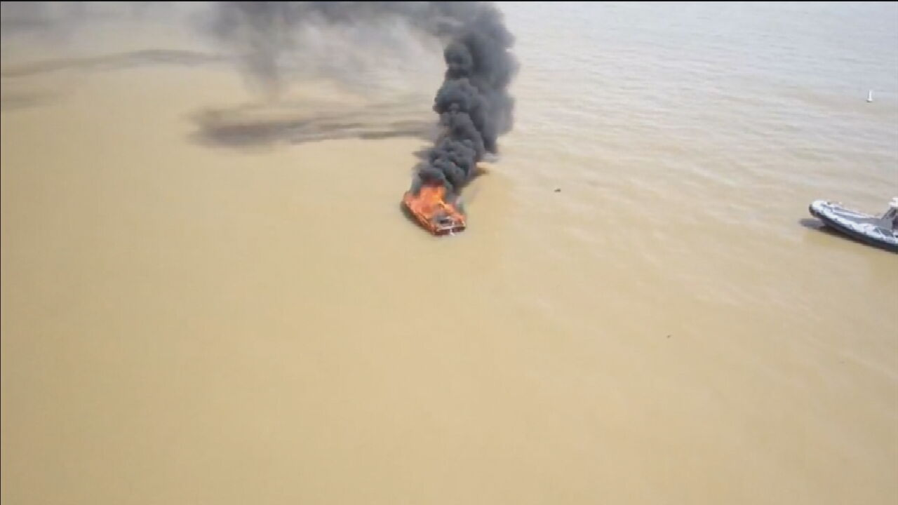 Boat Explodes On Lake Eufaula; Woman Severely Injured