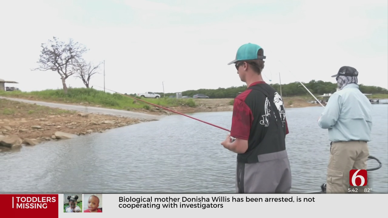 High School Fishermen Learn From Pro Anglers On Memorial Day Weekend