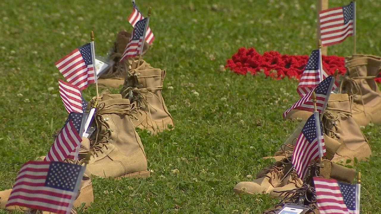 'Field of Heroes' Event Honors The Lives Of Oklahomans Lost