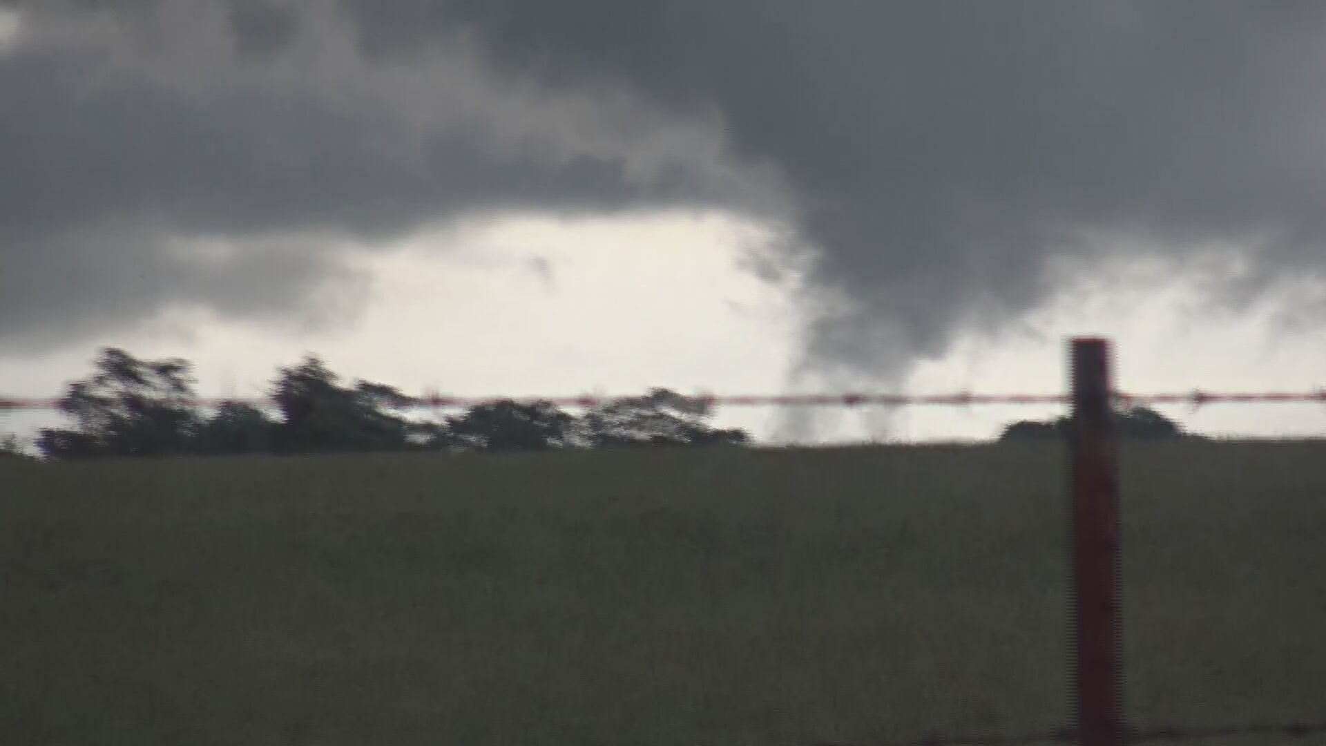 WATCH: Tornado Touches Down Northwest Of Siloam Springs