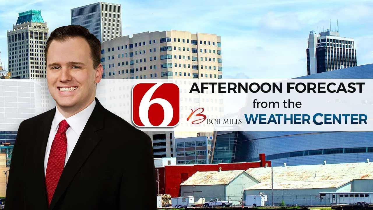 Wednesday Afternoon Forecast With Stephen Nehrenz