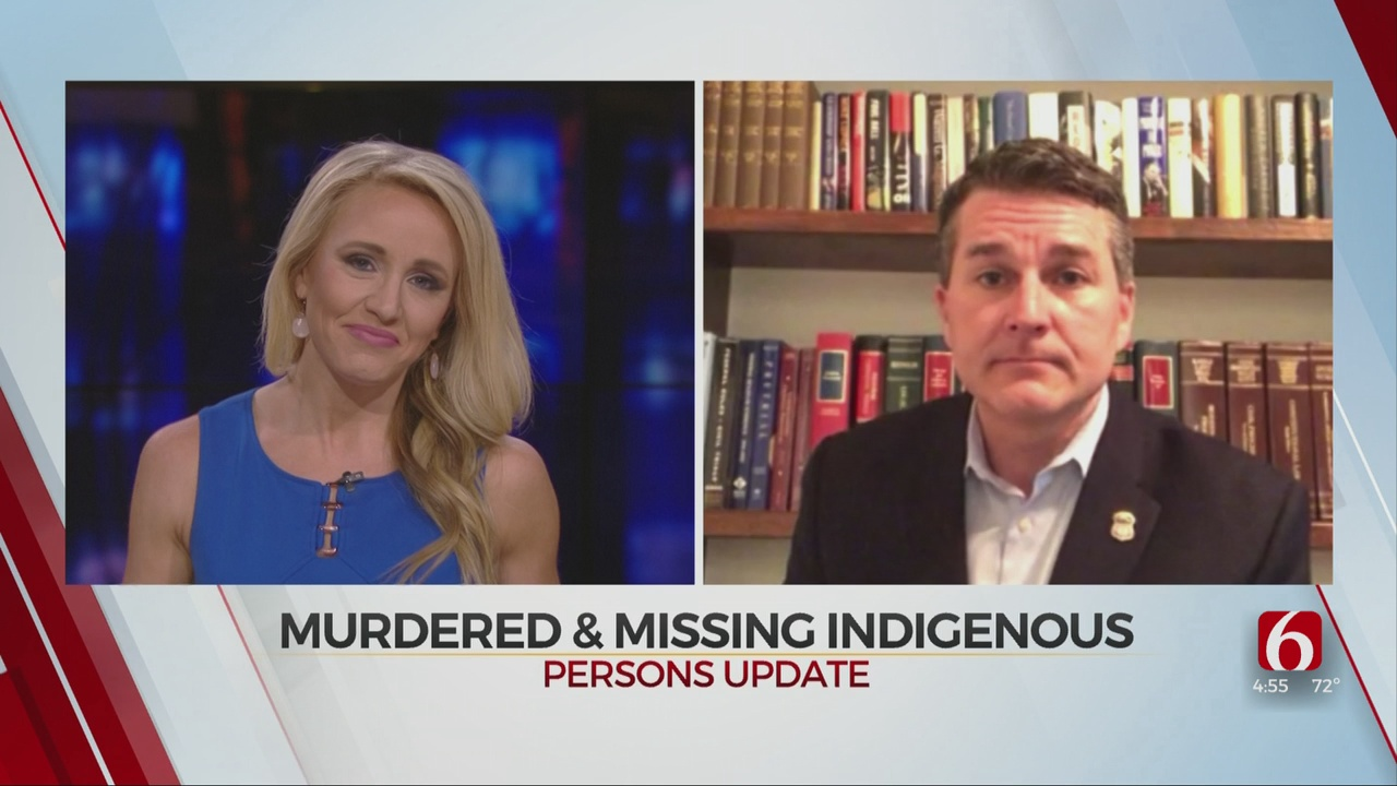 U.S. Attorney Shores On How Oklahoma Is Addressing Missing, Murdered Indigenous People