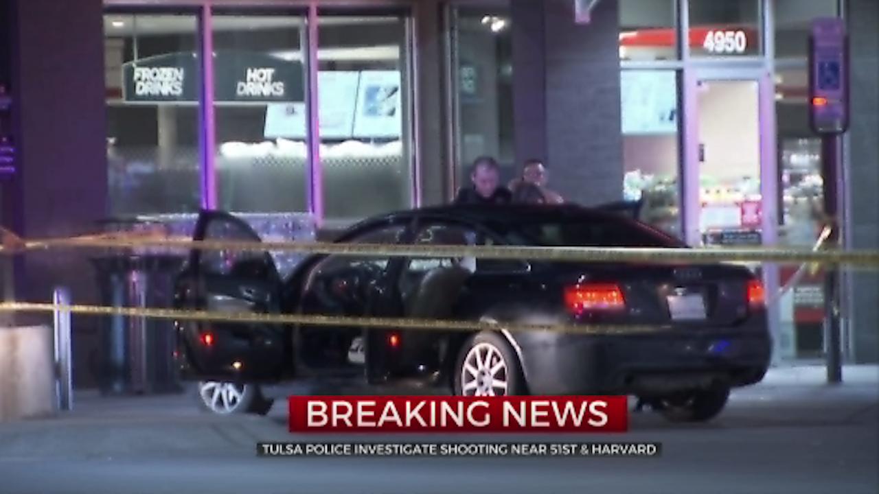Tulsa Police Investigate Shooting Near 51st And Harvard