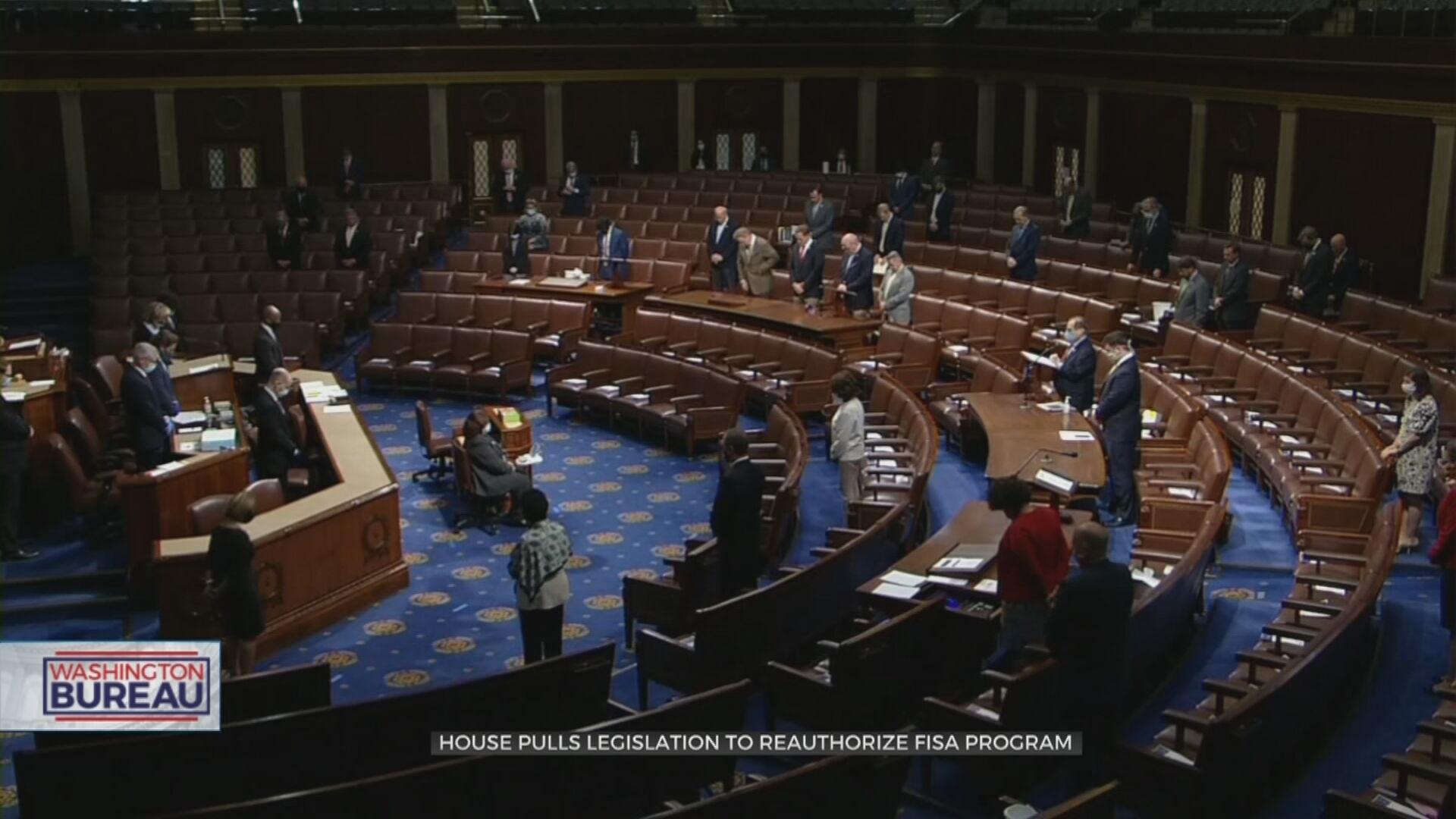 House Pulls Legislation To Reauthorize Fisa Program