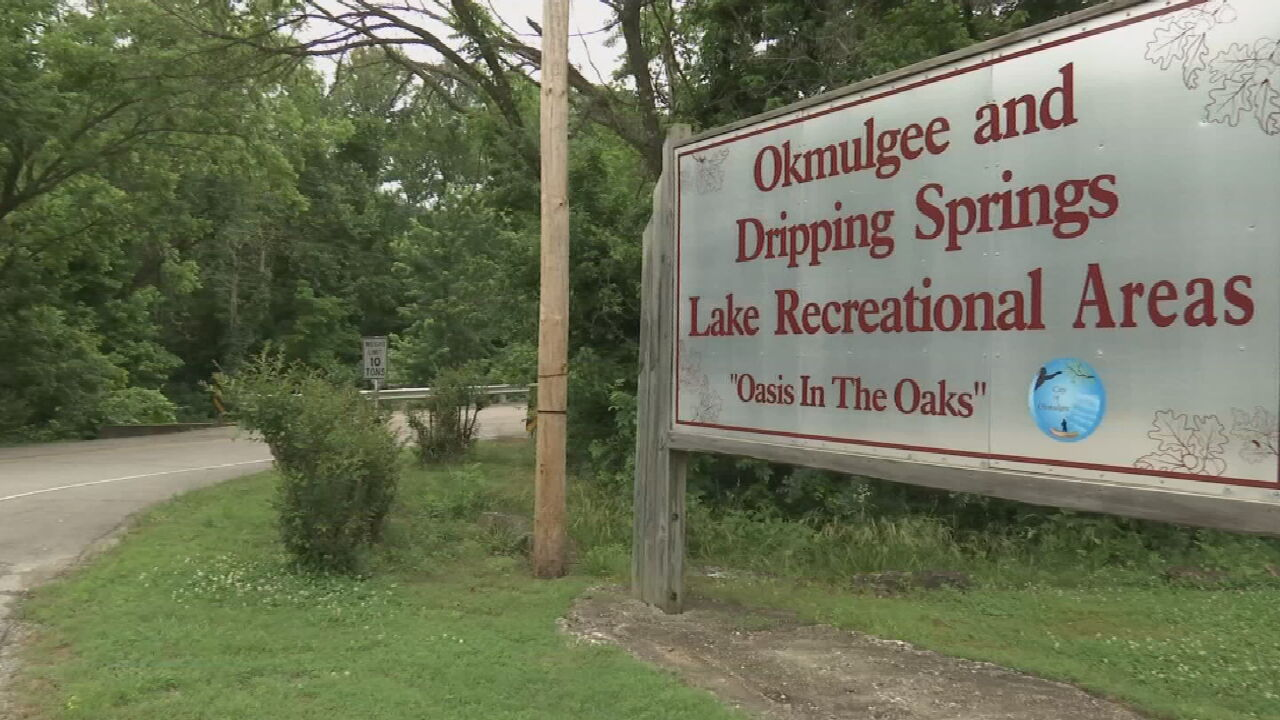 On The Road With Jim Jefferies: Dripping Springs Lake In Okmulgee