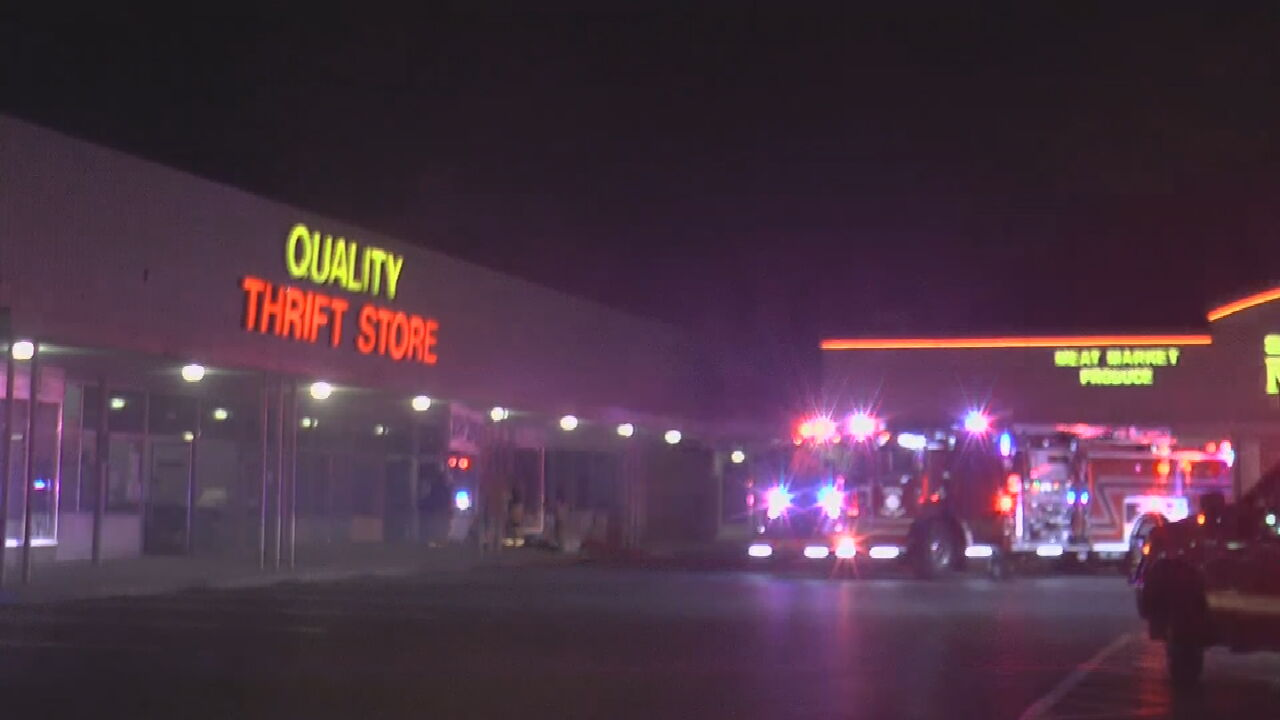 Thrift Store Damaged By Small Fire During Overnight Vandalism