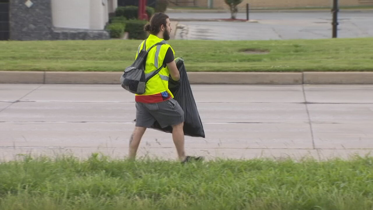 Volunteers Join Tulsa Businesses To Clean Up After 2nd Night Of Vandalism
