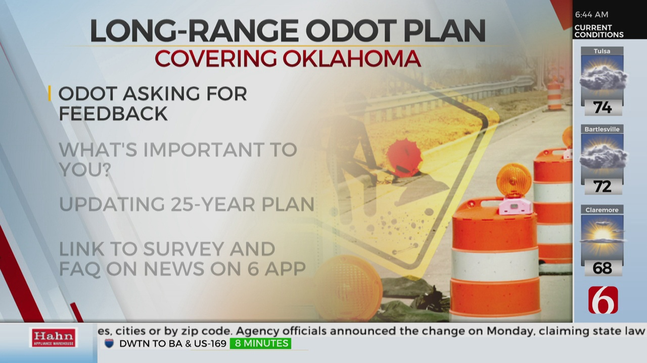 ODOT Wants Your Feedback On Department's 25-Year Plan